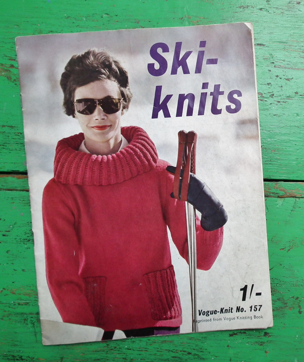 Vogue-Knit No. 157 Ski-Knits 1960 Vintage 50s 60s Vogue
