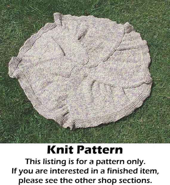Knitting Pattern For Round Baby Blanket : Baby blanket knit pattern knit round baby blanket pattern