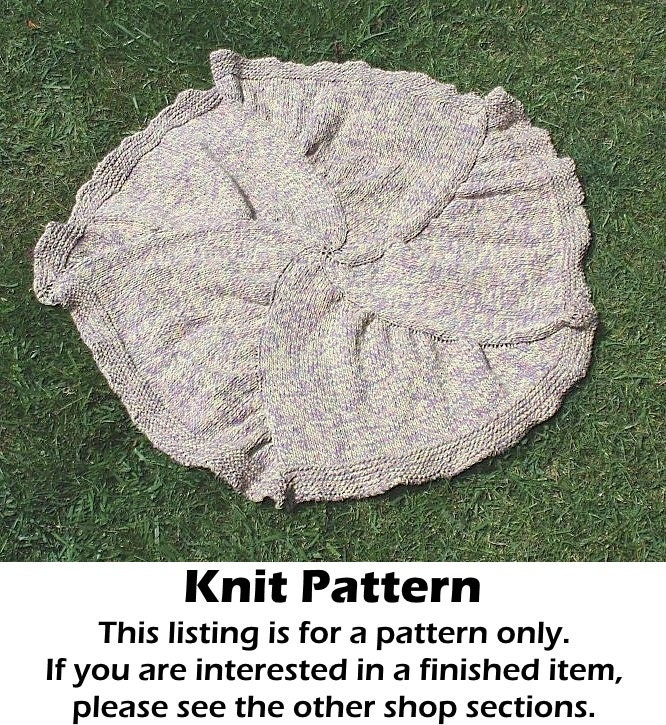 Knitting A Pattern In The Round : Baby blanket knit pattern knit round baby blanket pattern