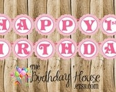 Aurora & Friends Birthday Party Banner - Custom Sleeping Beauty Party Banner by The Birthday House