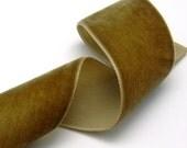 1-1/2 inch Greenish Brown Velvet Ribbon - 3 yards (RN005-C3)