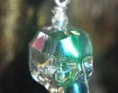 Crystal Skull Earrings - Paradise Shine
