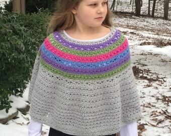 eabf1d4f2610 Poncho Crochet PATTERN Boho Poncho Pattern