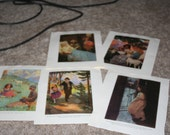 5 Double Sided Heidi Prints