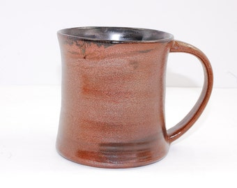 18 oz Mug Porcelain Bronze Sparkle Ceramic Mug Large