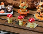 Fantasy Toadstool Religieuse for Autumn/Fall - 12th Scale French Miniature Food