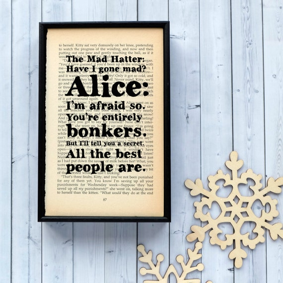 alice in wonderland mad hatter quotes 2010 nfl