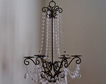 Oil Rubbed Bronze Lush Large Empire Candle Chandelier MADE TO ORDER