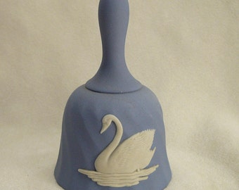 Wedgwood Swan and Snowflake Bell Porcelain