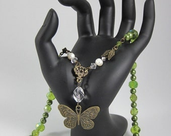 Chlorophyll; A Necklace Inspired by Nature's Elegance