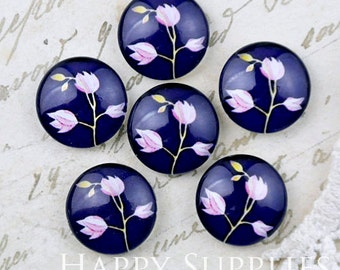 10pcs 12mm (GC12-1169) Handmade Photo Glass Cabochon