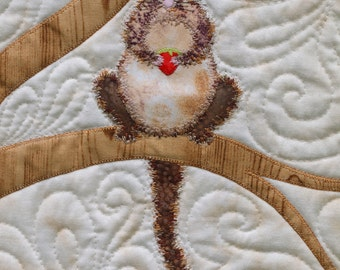 Possum applique pattern sheet