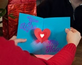 DIY Light-Up Pop-Up Card Kit - Love Card - Circuit Sentiments - Learn Paper Engineering