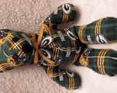 Green Bay Packers Teddy Bear / Mascot Bear / Football