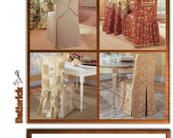 Sew & Make Butterick B4480 Waverly Sewing Pattern - Dining Room Chair Covers