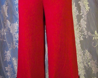 Red Spider Lace Bamboo Lycra Bloomers