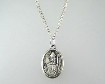 Saint Kevin Medal Necklace
