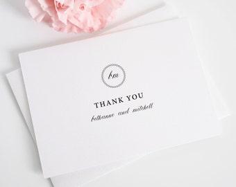 Thank You Cards - Vintage Elegance Design