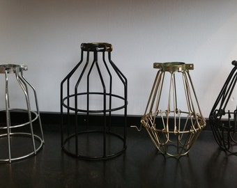 CAGE ONLY  Pendant Lamp Guard Pendant Light Cage Bulb Guard Lighting