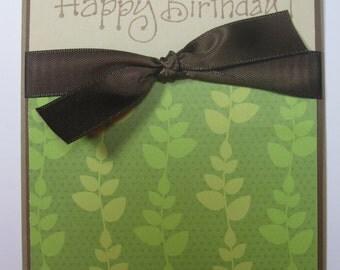 A calm and peaceful Happy Birthday Card