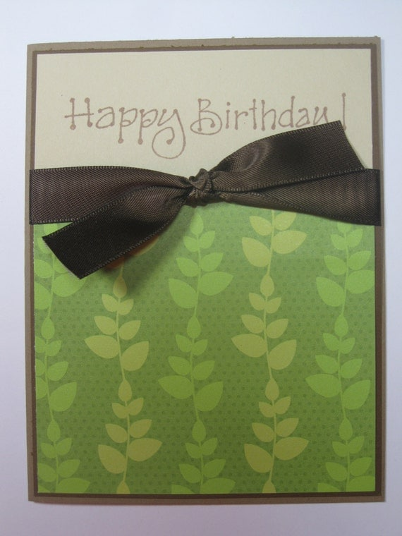 A calm and peaceful Happy Birthday Card