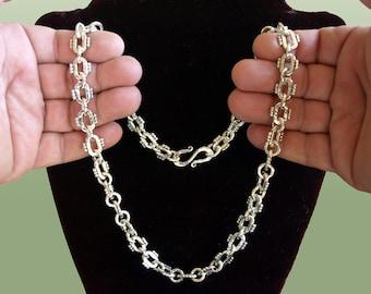 Silver CHAIN - handmade.01