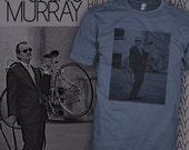 Bill Murray T Shirt - Bill Murray Bike Shirt - Bill Murray Bicycle Tee - FREE SHIPPING