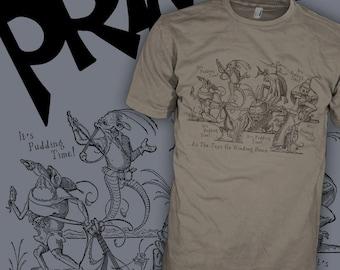 PRIMUS Band Shirt - Pudding Time Bosch - Les Claypool Bass Guitar - Funk Rock T-Shirt