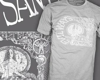 SANTANA Band Shirt - Evil Ways - Black Magic Woman Shirt - 70's Latin Rock T-Shirt