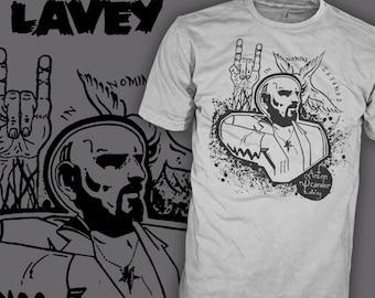Anton Szandor LaVey Shirt - Church of Satan Shirt - Author of the Satanic Bible - Horror T-Shirt