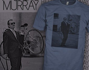 Bill Murray T Shirt - Bill Murray Bike Shirt - Bill Murray Bicycle Tee