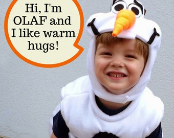 Olaf Frozen Costume PDF Pattern sizes 12months through 12 years