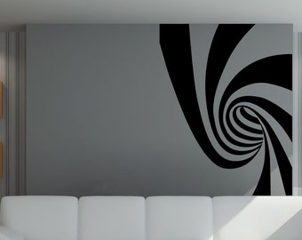 Vinyl Wall Decal Sticker Swirl Design #5508s