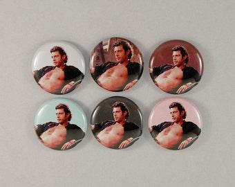 """1"""" Jeff Goldblum buttons"""