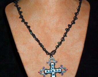Hemp Necklace Ornate