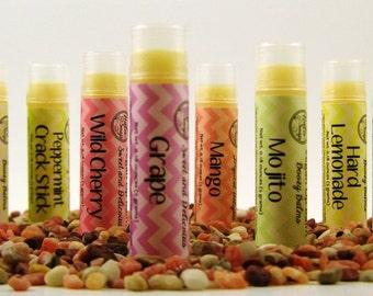 Vegan Lip Balm - Choose Your Flavor