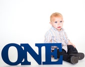 ONE Sign Baby Photo Prop for 1st Birthday - ONE Sign First Birthday Sign - Baby Birthday Party Decor (Item - ONE108)