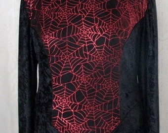 Spider Web Dress, wiccan clothing gothic clothing fantasy clothing cosplay clothing goth vampire witch witchcraft medieval renaissance