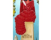 Bride on a Grave (Lydia Beetle Geuse stretching portrait parody) Print Limited Run of 30