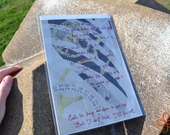 Illustrated Poetry - Broken Doll Print