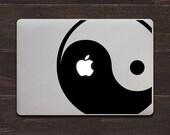 Yin Yang Vinyl MacBook Decal BAS-0200
