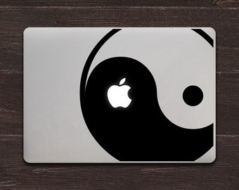 Yin Yang Vinyl MacBook Decal BAS-0200