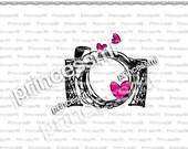 SALE #16 CAMERA clipart 1 PNG file - Digital Camera Clip Art cute camera photography clipart  for  photographer by princessmi