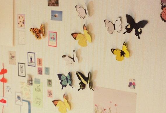приснилось розовые бабочки из бумаги на стене условия