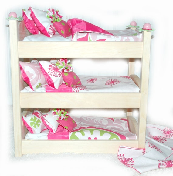 How To Make A Triple Bunk Bed For Dolls