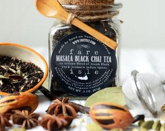 Fare Isle Organic Black Masala Chai Tea