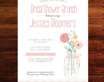 Bridal Shower invitations - set of 15