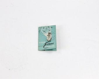 Vintage Evans Lighter Brochure - Cigarette Lighter Tobacciana - Instruction Booklet - Red Seal Automatic Lighter