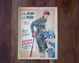 1953 Le Petit Écho de la Mode Vintage Magazine