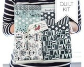 Quilt Kit - The Boat House Fabric Collection - Puddle Jumping Pattern